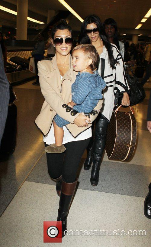 Kourtney Kardashian and Mason 2