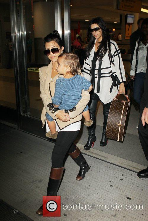 Kourtney Kardashian and Mason 1