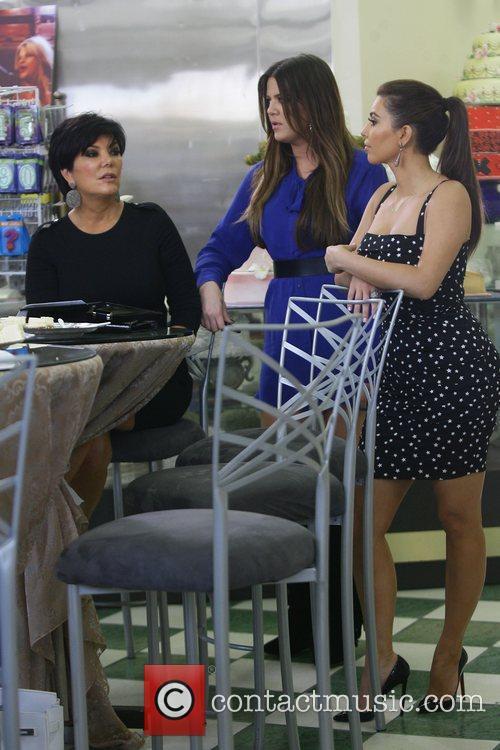 Kris Jenner, Khloe Kardashian and Kim Kardashian 2