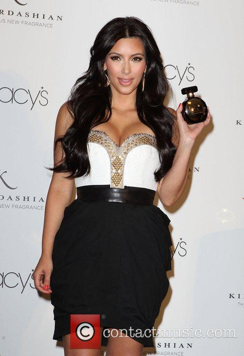 Kim Kardashian launches her new fragrance 'Gold' at...