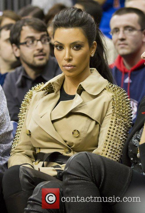 Kim Kardashian and New Jersey Nets 1