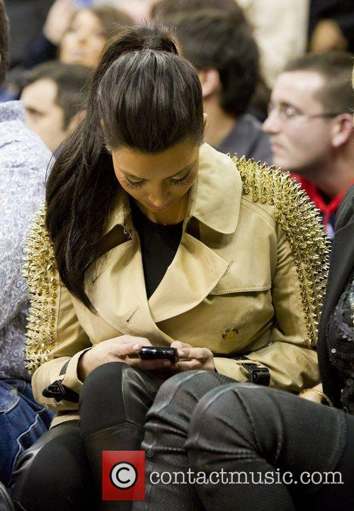 Kim Kardashian and New Jersey Nets 11