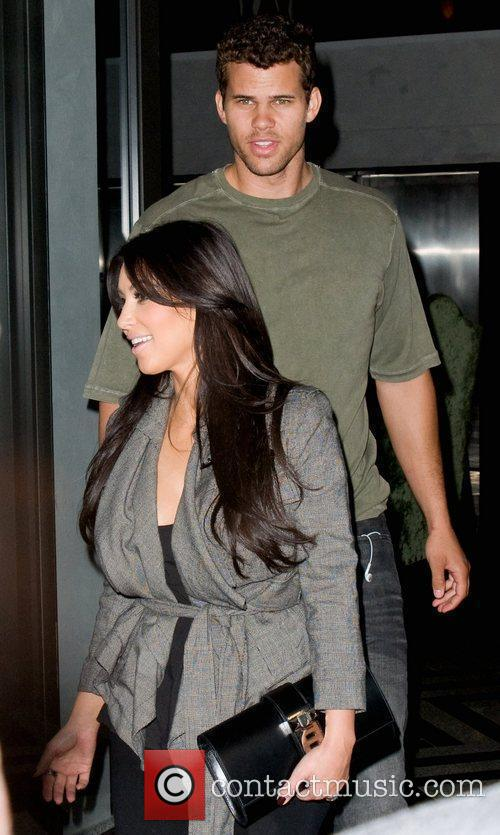 Kim Kardashian and Kris Humphries 3