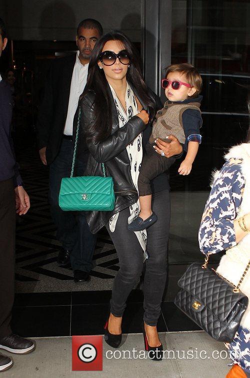 Kim Kardashian, Mason and Manhattan Hotel 15