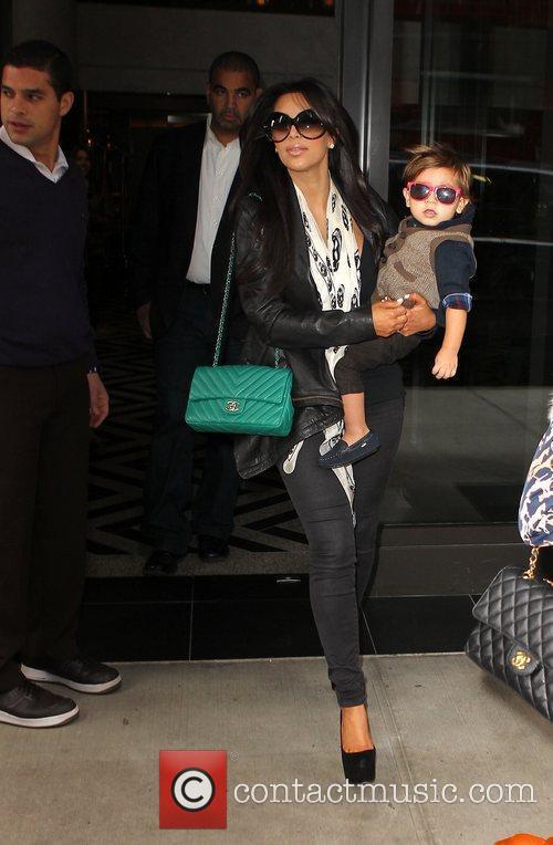 Kim Kardashian, Mason and Manhattan Hotel 12