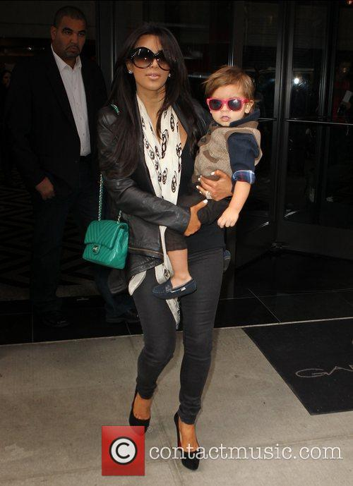 Kim Kardashian, Mason and Manhattan Hotel 1