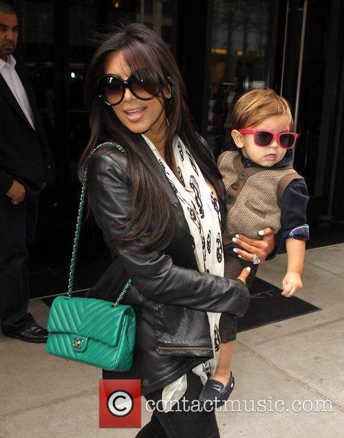Kim Kardashian, Mason and Manhattan Hotel 7