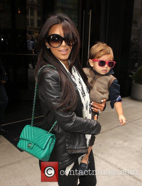 Kim Kardashian, Mason and Manhattan Hotel 8