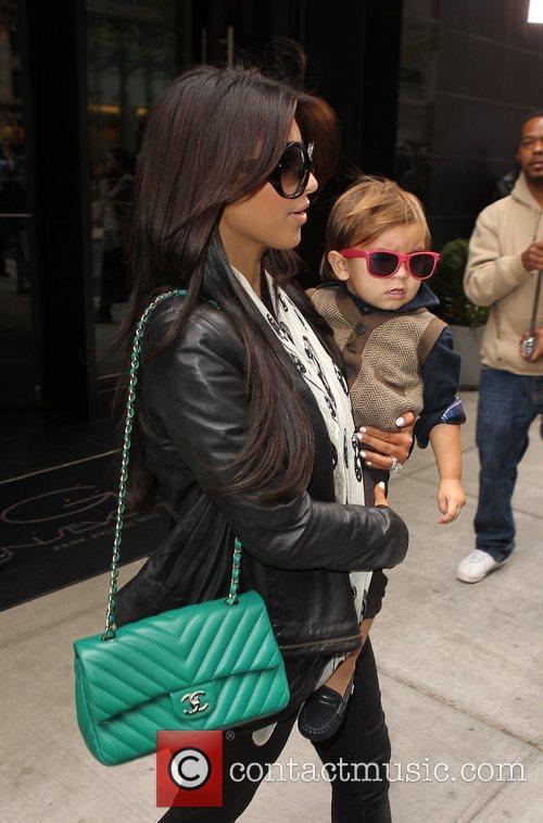 Kim Kardashian, Mason and Manhattan Hotel 16