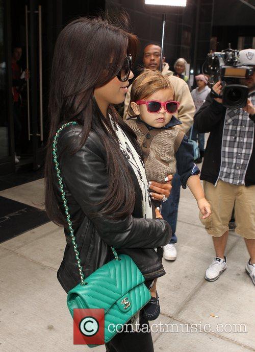 Kim Kardashian, Mason and Manhattan Hotel 19