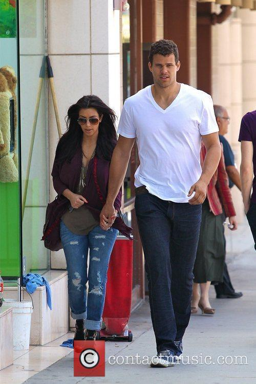 Kim Kardashian and Kris Humphries 4