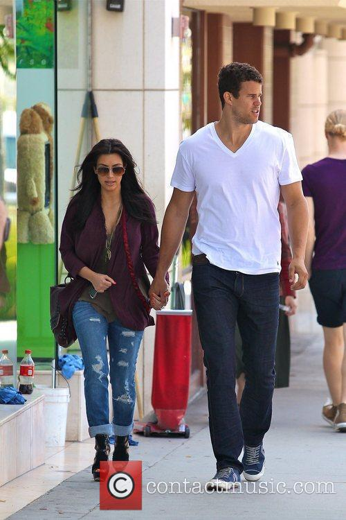 Kim Kardashian and Kris Humphries 1