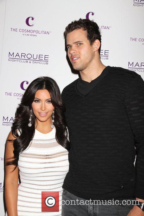Kim Kardashian West and Kris Humphries