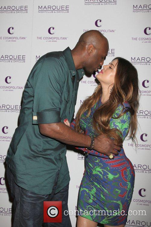 Lamar Odom and Khloe Kardashian 1