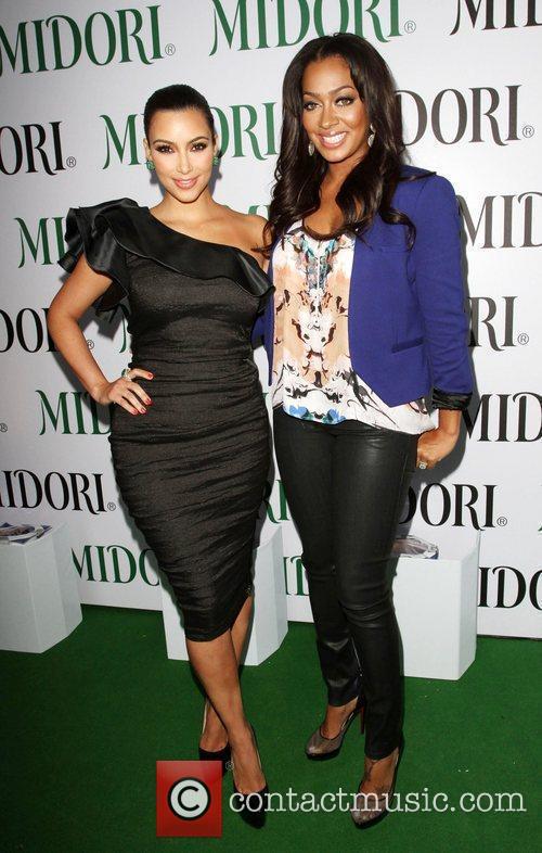 Kim Kardashian, La La Vasquez Kim Kardashian &...
