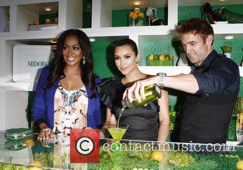 LaLa Vazquez, Kim Kardashian and Scott Ford Kim...