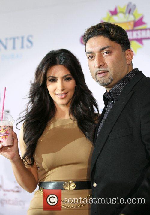Kim Kardashian and Millions of Milkshakes owner, Sheeraz...