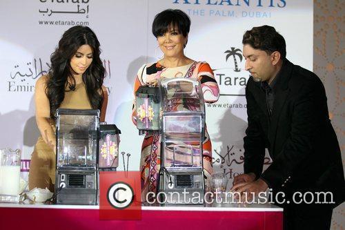 Kim Kardashian, kris jenner, Palms Hotel