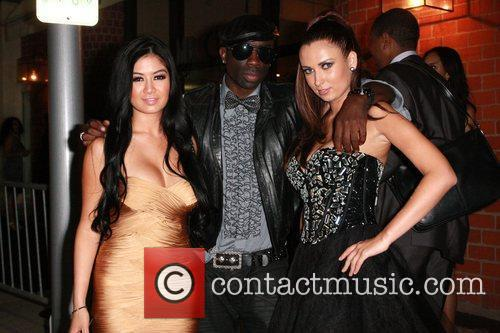 Kim Lee and friends are spotted at the...