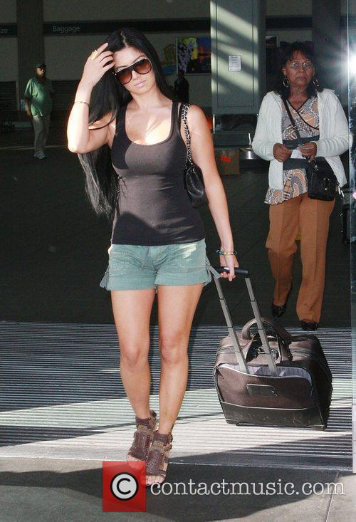 Kim Lee arriving at Sacramento airport ahead of...