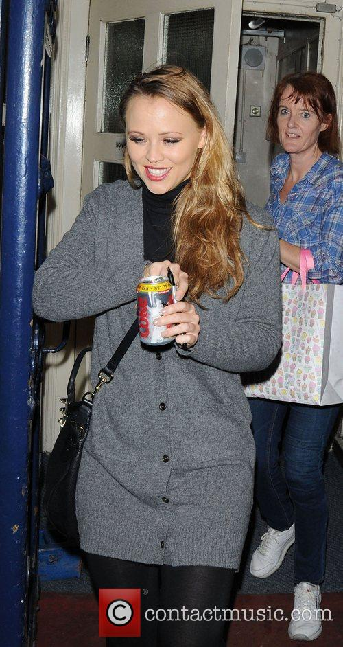 Kimberley Walsh and Shrek 9