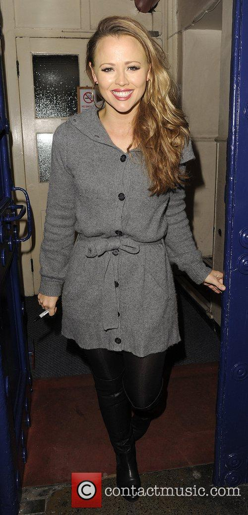 kimberley walsh leaving the theatre royal having 3570368
