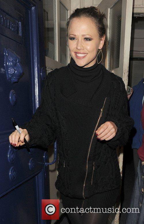 Kimberley Walsh and Shrek 6