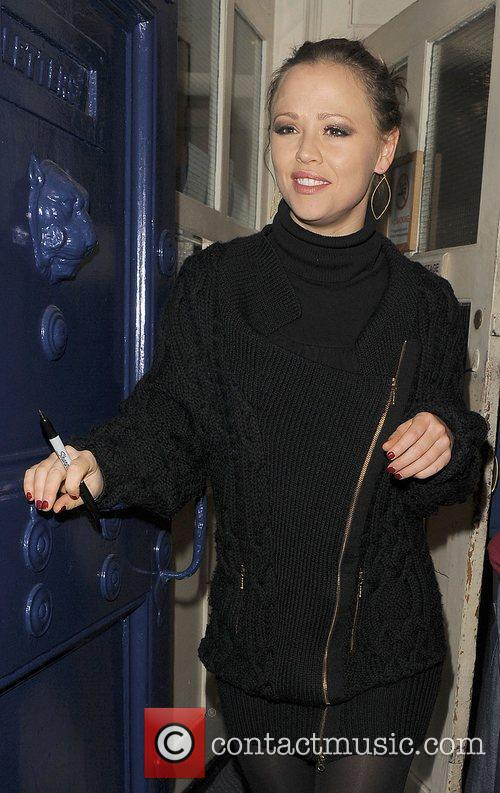 Kimberley Walsh and Shrek 7