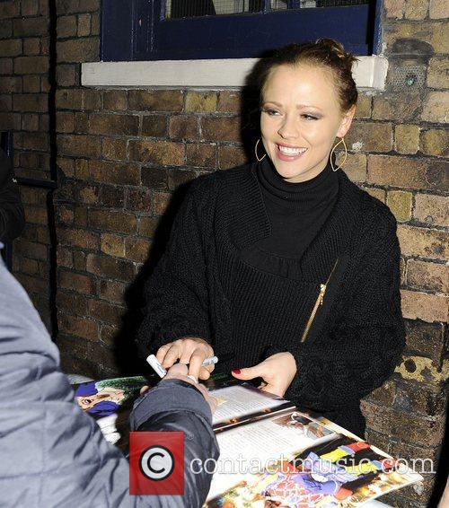 Kimberley Walsh and Shrek 14
