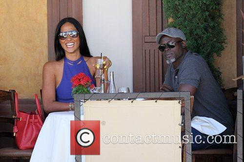 Kimora Lee Simmons and Djimon Hounsou 21