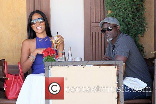 Kimora Lee Simmons and Djimon Hounsou 25