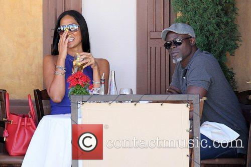 Kimora Lee Simmons and Djimon Hounsou 15