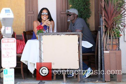 Kimora Lee Simmons and Djimon Hounsou 12