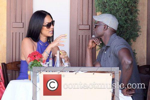Kimora Lee Simmons and Djimon Hounsou 32