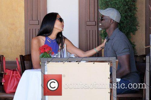 Kimora Lee Simmons and Djimon Hounsou 26