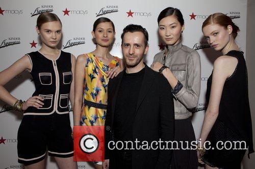 Models-Natasha Beloborvik ,Mick Szal ,( Designer Kinder Aggugini...