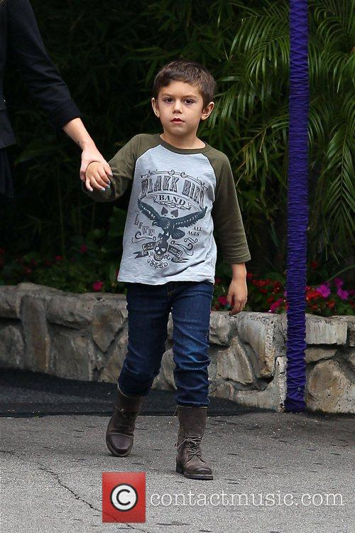 Kingston Rossdale seen out and about in Studio...