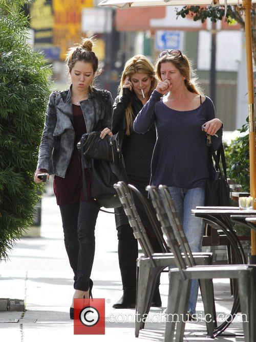 Kirstie Alley and daughter Lillie out and about...