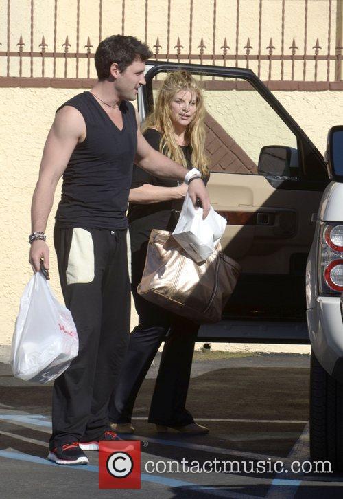 Kirstie Alley leaving a dance studio after 'Dancing...