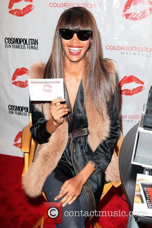 Jessica White 3rd annual 'Kisses for the Troops'...
