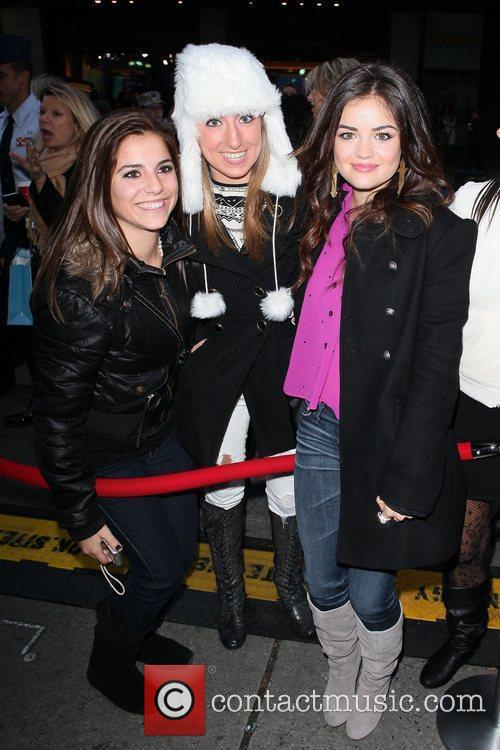 Lucy Hale and Times Square 7