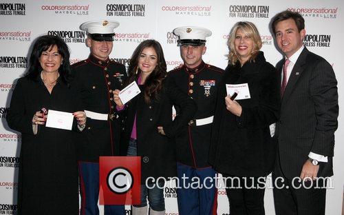 U.S. Marines, Donna Kalajian Lagani, Carolyn Holba, Brian...