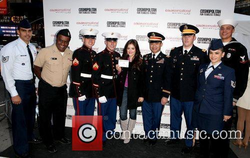 U.S. Service Men and Women and Lucy Hale...
