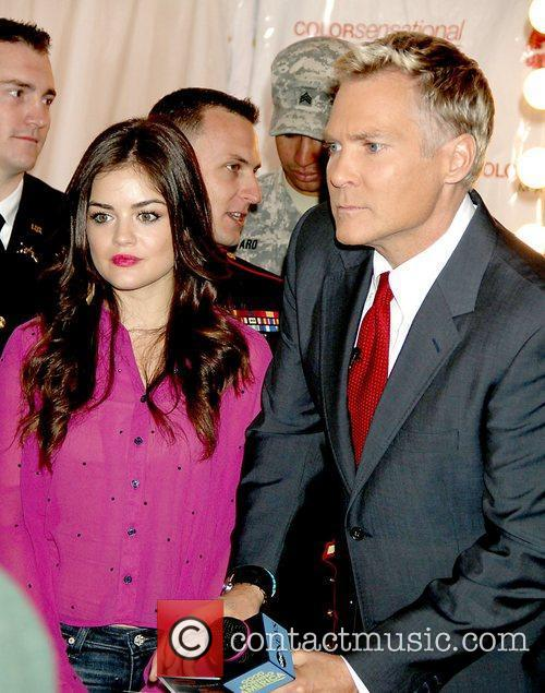 Lucy Hale, Sam Champion 3rd annual 'Kisses for...