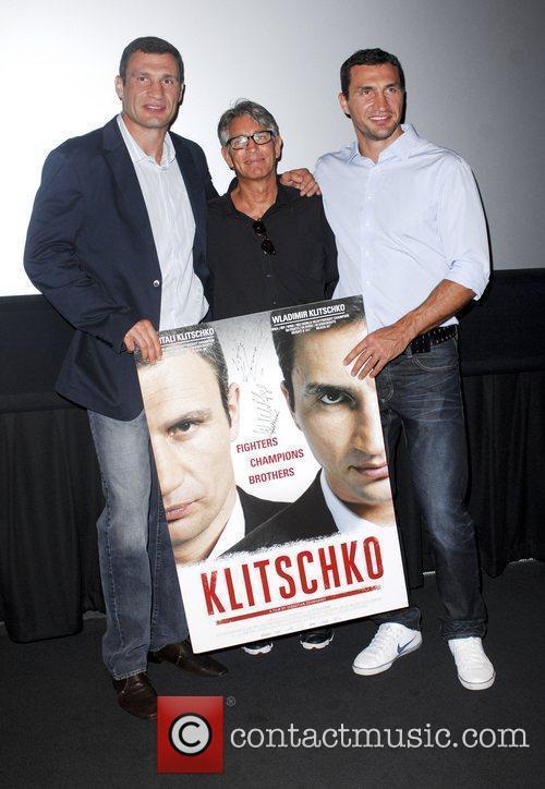 Vitali Klitschko, Eric Roberts and Wladimir Klitschko 10