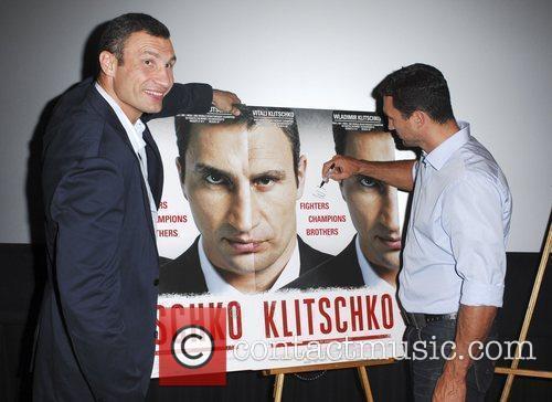 Vitali Klitschko and Wladimir Klitschko 6