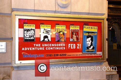 John Leguizamo poster on the opening night for...