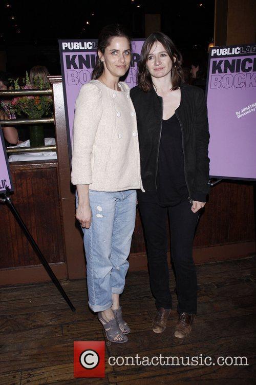 Amanda Peet and Emily Mortimer 1