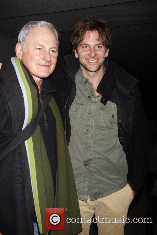 Victor Garber and Bradley Cooper Backstage at The...