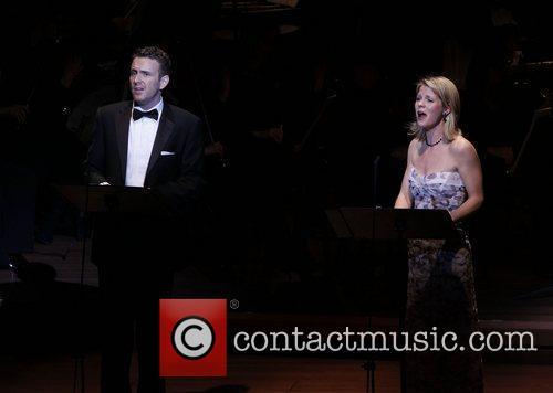 Ben Davis and Kelli O'Hara The Collegiate Chorale...